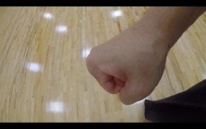 二天一流剣術の拳創り