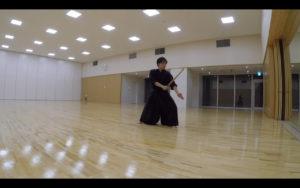 二天一流剣術の小太刀14