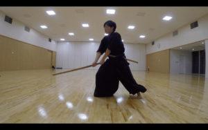 二天一流剣術の型「流討」2