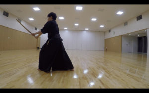 二天一流剣術の型「流討」4